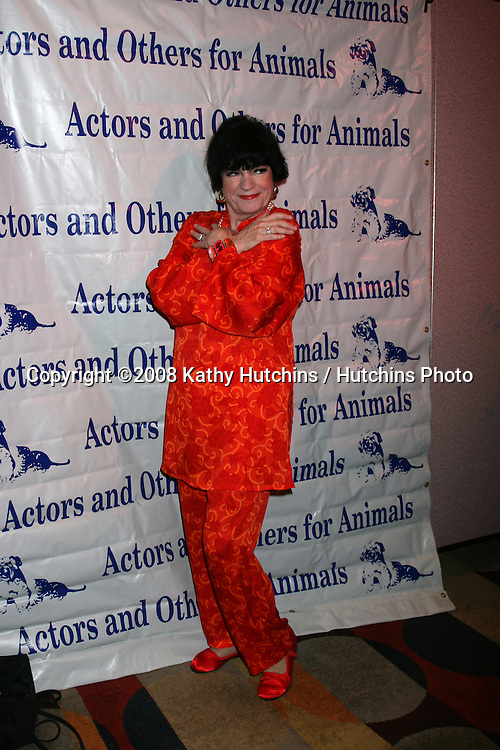 JoAnne Worley  arriving at  the Actors & Others for Animals Roast of Carol Channing at the Universal Hilton Hotel in Los Angeles, CA on .November 15, 2008.©2008 Kathy Hutchins / Hutchins Photo...                . .
