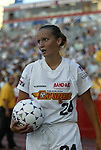 13 July 2003: Beth McNamara. The Boston Breakers defeated the Philadelphia Charge 3-1 at Boston University's Nickerson Field in Boston, MA in a regular season WUSA game..Mandatory Credit: Andy Mead/Icon SMI