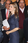 Princess Letizia of Spain attends the 'El Canon del Boom' literary congress at the Casa de America on November 5, 2012 in Madrid, Spain. .(ALTERPHOTOS/Harry S. Stamper)