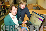 LIBRARY ONLINE: Marita Corcoran and Noreen O'Keeffe of Tralee library who are promoting the range of new historical resources available at the library and on its website.