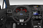Car pictures of steering wheel view of a 2017 Subaru WRX 2 4 Door Sedan Steering Wheel