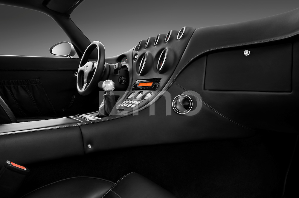 Passenger side dashboard view of a 2009 - 2014 Wiesmann MF4 GT 2 Door Coupe.