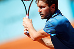 Gilles Simon, France, during Madrid Open Tennis 2016 match.May, 2, 2016.(ALTERPHOTOS/Acero)
