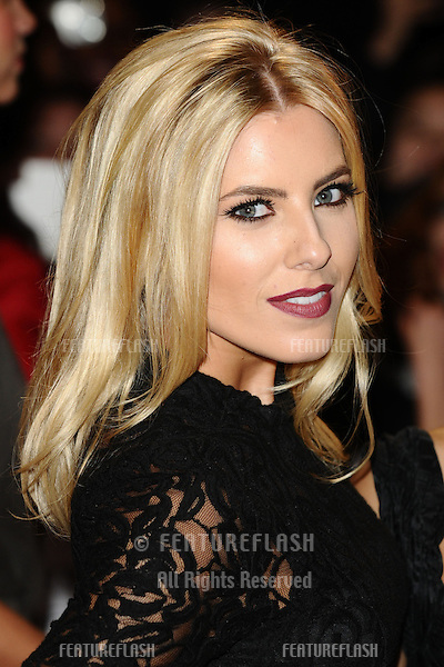 "Mollie King arriving for the ""The Twilight Saga: Breaking Dawn Part 2"" premiere at the Odeon Leicester Square, London. 14/11/2012 Picture by: Steve Vas / Featureflash"