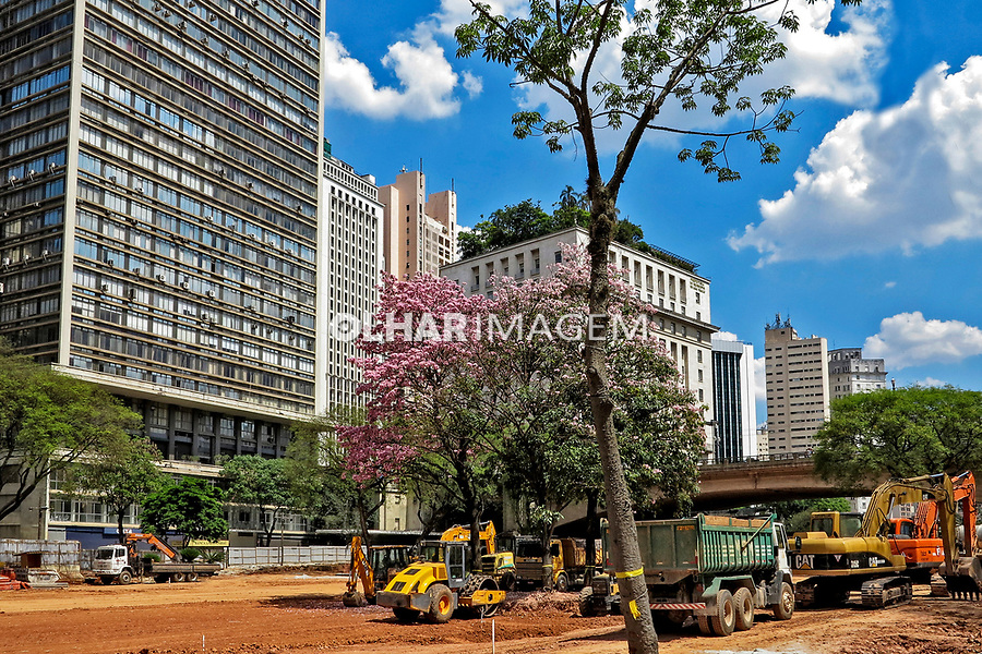 Reforma do Anhangabau. Sao Paulo. 2019. Foto de Marcia Minillo