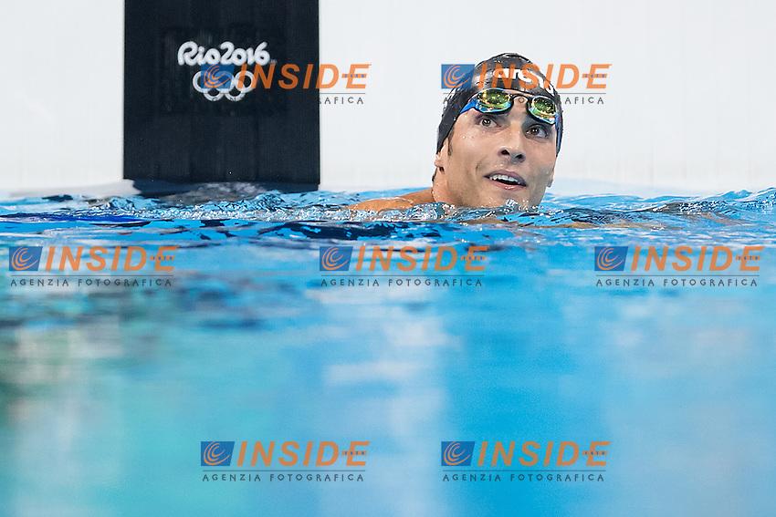 Detti Gabriele ITA<br /> 400 freestyle men<br /> Rio de Janeiro 06-08-2016 XXXI Olympic Games <br /> Olympic Aquatics Stadium <br /> Swimming finals 06/08/2016<br /> Photo Giorgio Scala/Deepbluemedia/Insidefoto