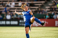 Seattle, WA - Wednesday, June 28, 2017: Christine Nairn during a regular season National Women's Soccer League (NWSL) match between the Seattle Reign FC and the Chicago Red Stars at Memorial Stadium.