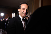 Oscar nominee Alexandre Desplat during the live ABC Telecast of The 90th Oscars&reg; at the Dolby&reg; Theatre in Hollywood, CA on Sunday, March 4, 2018.<br /> *Editorial Use Only*<br /> CAP/PLF/AMPAS<br /> Supplied by Capital Pictures