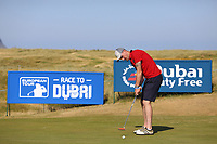 Gerard Doherty playing with Nicolas Colsaerts (BEL) during the ProAm of the 2018 Dubai Duty Free Irish Open, Ballyliffin Golf Club, Ballyliffin, Co Donegal, Ireland.<br /> Picture: Golffile | Jenny Matthews<br /> <br /> <br /> All photo usage must carry mandatory copyright credit (&copy; Golffile | Jenny Matthews)