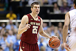 18 January 2014: Boston College's Joe Rahon. The University of North Carolina Tar Heels played the Boston College Eagles in an NCAA Division I Men's basketball game at the Dean E. Smith Center in Chapel Hill, North Carolina. UNC won the game 82-71.