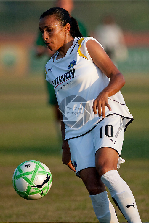 June 24 2009          Sol player Marta, 10 in second half action.   The St. Louis Athletica lost to the Los Angeles Sol, 2-1, in a Women's Professional Soccer (WPS) game at the Anheuser Busch Center in Fenton, Missouri.   ..            *******EDITORIAL USE ONLY*******