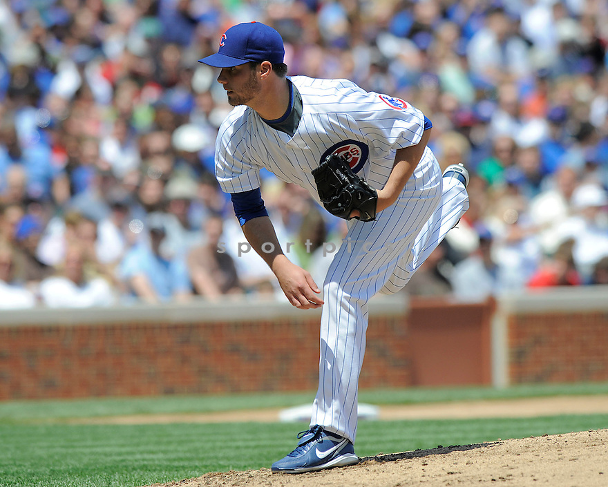 RANDY WELLS, of the Chicago Cubs in action during the Cubs game against the Houston Astros on May 16, 2009 in Chicago, IL. The Cubs  beat the Padres 5-4......