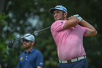 Jon Rahm (ESP) watches his tee shot on 9 during round 4 of the Fort Worth Invitational, The Colonial, at Fort Worth, Texas, USA. 5/27/2018.<br /> Picture: Golffile | Ken Murray<br /> <br /> All photo usage must carry mandatory copyright credit (© Golffile | Ken Murray)
