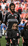 06 May 2007: DC's Facundo Erpen (ARG).  DC United defeated CD Chivas USA 2-1 at RFK Stadium in Washington, DC in a Major League Soccer 2007 regular season game.