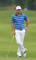 Paul Casey (ENG) on the 3rd green during Round 3 of the CIMB Classic in the Kuala Lumpur Golf & Country Club on Saturday 1st November 2014.<br /> Picture:  Thos Caffrey / www.golffile.ie