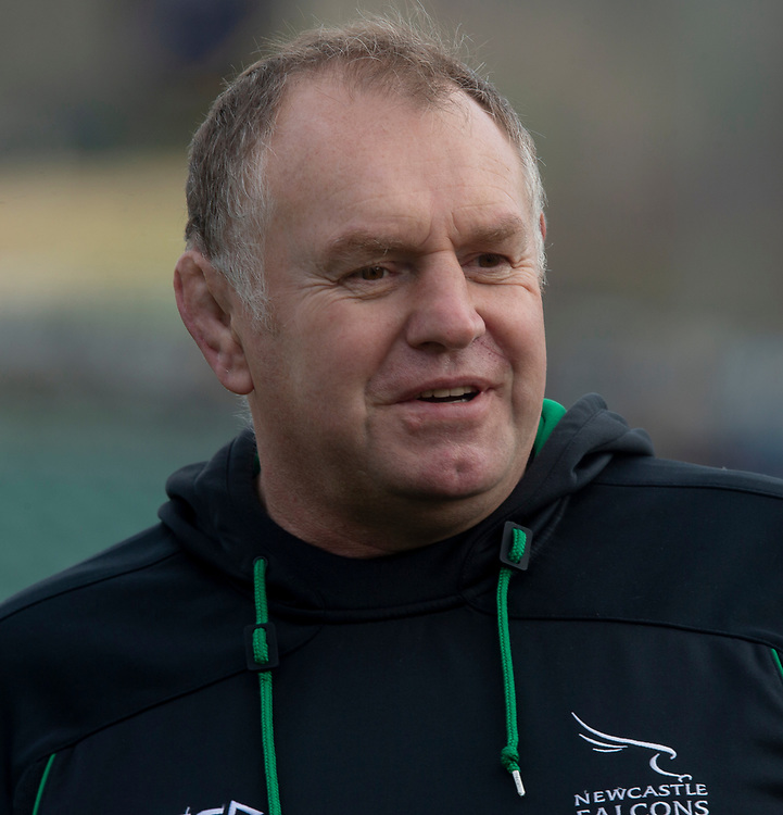 Newcastle's Head Coach Dean Richards<br /> <br /> Photographer Bob Bradford/CameraSport<br /> <br /> Gallagher Premiership - Bath Rugby v Newcastle Falcons - Saturday 16th February 2019 - The Recreation Ground - Bath<br /> <br /> World Copyright © 2019 CameraSport. All rights reserved. 43 Linden Ave. Countesthorpe. Leicester. England. LE8 5PG - Tel: +44 (0) 116 277 4147 - admin@camerasport.com - www.camerasport.com