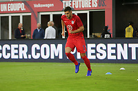 WASHINGTON D.C. - OCTOBER 11: Matt Miazga #3 of the United States during warm up prior to their Nations League game versus Cuba at Audi Field, on October 11, 2019 in Washington D.C.