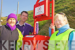 NAMES TO FINISH - OWEN.Members of the Ballybunion Tidy Towns Committee who have put new litter bins in place on the local beach.