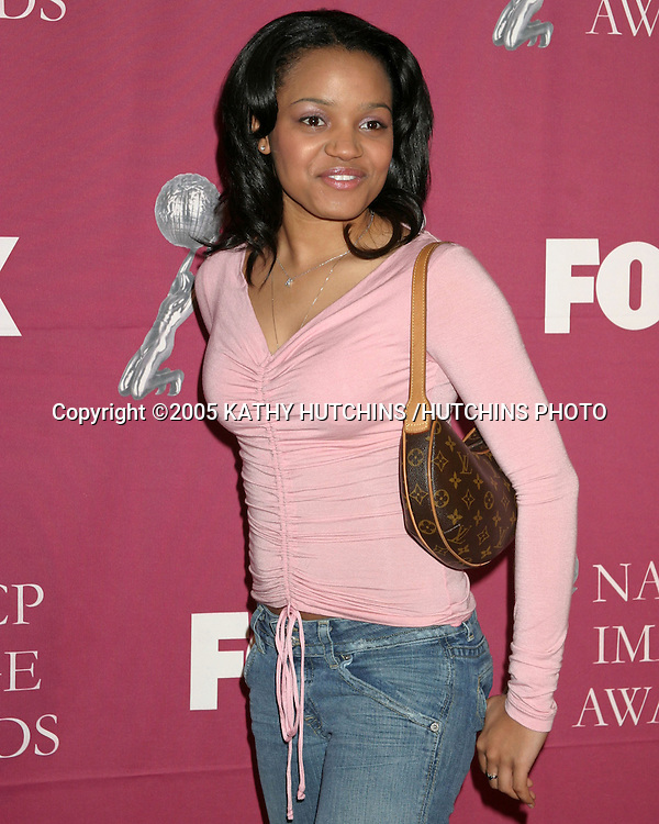 KYLA PRATT.NAACP IMAGE AWARDS NOMINEES LUNCHEON.BEVERLY HILTON HOTEL.BEVERLY HILLS, CA.MARCH 5, 2005.©2005 KATHY HUTCHINS /HUTCHINS PHOTO.......