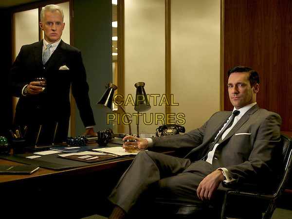 JOHN SLATTERY, AARON STATON<br /> in Mad Men (Season 2)<br /> *Filmstill - Editorial Use Only*<br /> CAP/FB<br /> Image supplied by Capital Pictures