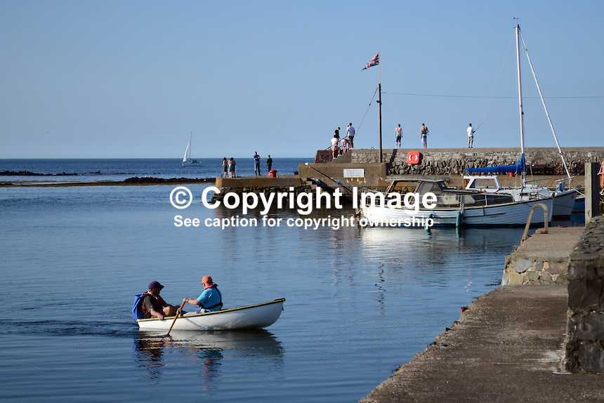 Harbour, Groomsport, Co Down, N Ireland, UK, travel, tourism, 201208100482..Copyright Image from Victor Patterson, 54 Dorchester Park, Belfast, UK, BT9 6RJ..Tel: +44 28 9066 1296.Mob: +44 7802 353836.Voicemail +44 20 8816 7153.Skype: victorpattersonbelfast.Email: victorpatterson@me.com.Email: victorpatterson@ireland.com (back-up)..IMPORTANT: If you wish to use this image or any other of my images please go to www.victorpatterson.com and click on the Terms & Conditions. Then contact me by email or phone with the reference number(s) of the image(s) concerned.