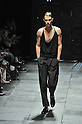 Spring/Summer 2014 Collection of Japanese fashion brand ATSUSHI NAKASHIMA on October 18, 2013, in Tokyo.