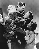 It's a Wonderful Life (1946)<br /> James Stewart &amp; Donna Reed<br /> *Filmstill - Editorial Use Only*<br /> CAP/KFS<br /> Image supplied by Capital Pictures