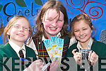GIRL POWER: Girls getting the glory for Gaelscoil Lios Tuathail following a number of competitions are Evaun Nic Uileagoid, Tara Ni Liathain and Abby Nic Mathuna.   Copyright Kerry's Eye 2008