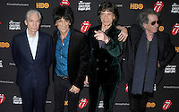 "The Rolling Stones at the premiere of ""Crossfire Hurricane"" - New York"