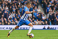 during the Premier League match between Brighton and Hove Albion and Everton at the American Express Community Stadium, Brighton and Hove, England on 15 October 2017. Photo by Edward Thomas / PRiME Media Images.