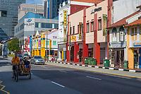 Singapore, South Bridge Road Street Scene, Chinatown.