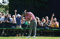 Rickie Fowler (USA) on the 15th tee during the 3rd round at the PGA Championship 2019, Beth Page Black, New York, USA. 19/05/2019.<br /> Picture Fran Caffrey / Golffile.ie<br /> <br /> All photo usage must carry mandatory copyright credit (© Golffile | Fran Caffrey)
