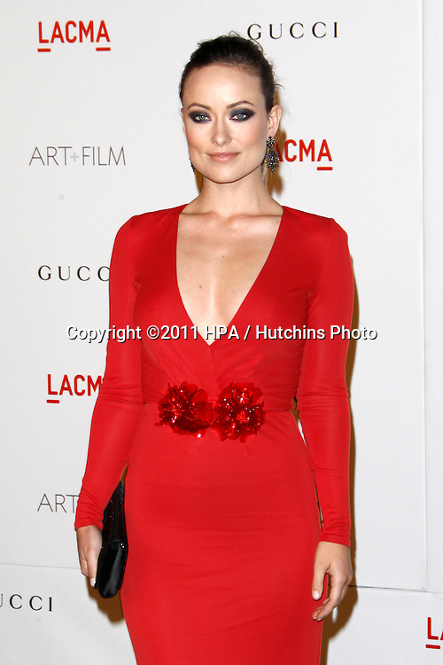 LOS ANGELES - NOV 5:  Olivia Wilde arrives at the LACMA Art + Film Gala at LA County Museum of Art on November 5, 2011 in Los Angeles, CA