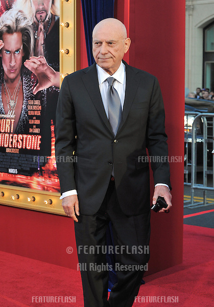 "Alan Arkin at the world premiere of his movie ""The Incredible Burt Wonderstone"" at the Chinese Theatre, Hollywood..March 11, 2013  Los Angeles, CA.Picture: Paul Smith / Featureflash"