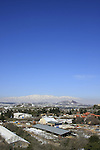 Golan Heights, Kibbutz Marom Golan at the foothill of Mount Bental