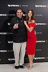 Ruben Trincado and Juana Acosta pose during promotional presentation at 63rd Donostia Zinemaldia (San Sebastian International Film Festival) in San Sebastian, Spain. September 24, 2015. (ALTERPHOTOS/Victor Blanco)