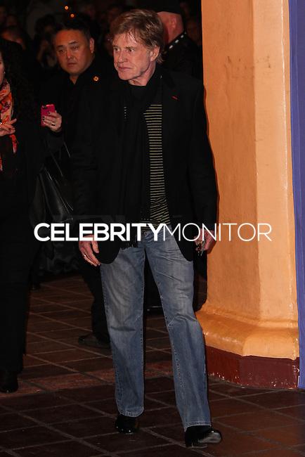 SANTA BARBARA, CA - FEBRUARY 07: Robert Redford at the 29th Santa Barbara International Film Festival - Robert Redford Honored With The American Riviera Award held at the Arlington Theatre on February 7, 2014 in Santa Barbara, California. (Photo by Xavier Collin/Celebrity Monitor)