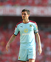 Burnley's Jack Cork<br /> <br /> Photographer Rob Newell/CameraSport<br /> <br /> The Premier League - Arsenal v Burnley - Sunday 6th May 2018 - The Emirates - London<br /> <br /> World Copyright &not;&copy; 2018 CameraSport. All rights reserved. 43 Linden Ave. Countesthorpe. Leicester. England. LE8 5PG - Tel: +44 (0) 116 277 4147 - admin@camerasport.com - www.camerasport.com