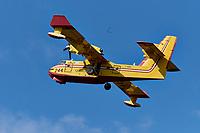Demonstration de avion citerne Canadair CL-215, en 2019<br /> <br /> <br /> PHOTO : Agence Quebec Presse - Pierre Tran