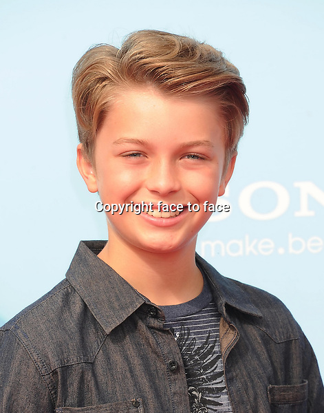 WESTWOOD, CA- SEPTEMBER 21: Actor Jacob Hopkins arrives at the Los Angeles premiere of 'Cloudy With A Chance Of Meatballs 2' at the Regency Village Theatre on September 21, 2013 in Westwood, California.(Jacob Hopkins)<br />