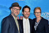 "LOS ANGELES, USA. October 17, 2019: Jonathan Dayton, Paul Rudd & Valerie Faris at the premiere of ""Living With Yourself"" at the Arclight Theatre, Hollywood.<br /> Picture: Paul Smith/Featureflash"