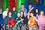Enjoying the funday in aid of Autism in Firies Community hall on Saturday was front row l-r: Ann Marie Breen Killarney, Colin Kerins Currow, Clodagh McHugh Castleisland, Sheila and Nathan O'Brien Abbeydourney. Back row: Rosemary Looney Tralee, Amy, Shane Breen Killarney, Tomas Molyneaux Lixnaw, Nicole McHugh Castleisland and Sarah Fahy Lyrecompane