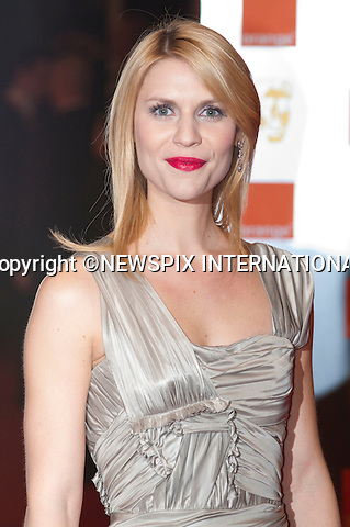"""CLAIRE DANES.at the Annual British Academy Film Awards, Royal Opera House, London_21st February, 2010..Mandatory Photo Credit: ©Dias/NEWSPIX INTERNATIONAL..**ALL FEES PAYABLE TO: """"NEWSPIX INTERNATIONAL""""**..PHOTO CREDIT MANDATORY!!: NEWSPIX INTERNATIONAL(Failure to credit will incur a surcharge of 100% of reproduction fees)..IMMEDIATE CONFIRMATION OF USAGE REQUIRED:.Newspix International, 31 Chinnery Hill, Bishop's Stortford, ENGLAND CM23 3PS.Tel:+441279 324672  ; Fax: +441279656877.Mobile:  0777568 1153.e-mail: info@newspixinternational.co.uk"""