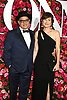 David Yazbek and Betesy Doberneck arrives at The 72nd Annual Tony Awards on June 10, 2018 at Radio City Music Hall in New York, New York, USA. <br /> <br /> photo by Robin Platzer/Twin Images<br />  <br /> phone number 212-935-0770