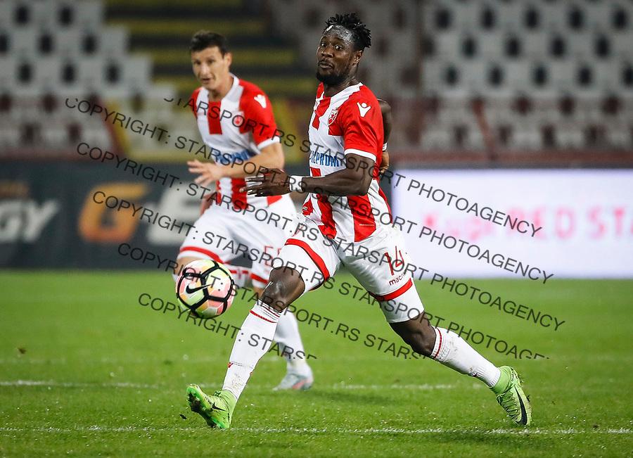 Fudbal Super League Season 2017-2018<br /> Crvena Zvezda v Spartak<br /> Richmond Boakye (R)<br /> Beograd, 25.10.2017.<br /> foto: Srdjan Stevanovic/Starsportphoto &copy;