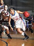 Texas - Arlington Mavericks guard Tamara Simmons (20) in action during the game between the Texas State Bobcats and the UTA Mavericks held at the University of Texas at Arlington's, Texas Hall, in Arlington, Texas. UTA defeats Texas State 79 to 63