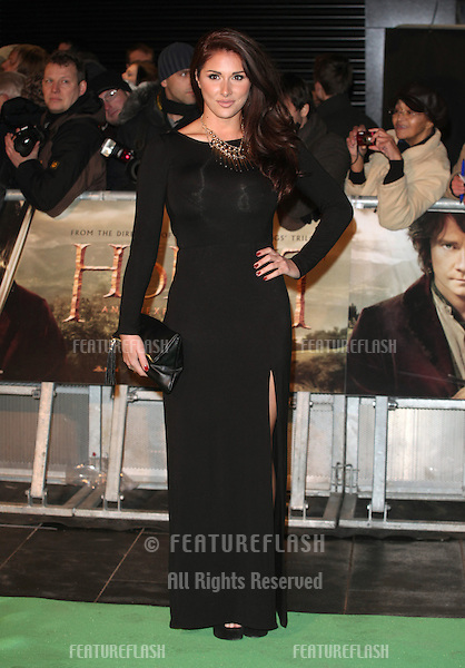 Lucy Pinder arriving for The hobbit Premiere, Odeon Leicester Square, London. 12/12/2012 Picture by: Alexandra Glen / Featureflash