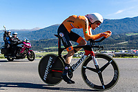 Picture by Alex Whitehead/SWpix.com - 26/09/2018 - Cycling - UCI 2018 Road World Championships - Innsbruck-Tirol, Austria - Elite Men's Time Trial - Tom Dumoulin of the Netherlands.