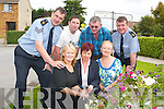 TIDY TOWNS:  Residents who have been working hard to keep their estate tidy were delighted this week when they won best large estate in the Tidy Tralee Together competition. From front l-r were Louise Farrell (Chiarperson), Freda Conroy and Jennifer Mackey. Back l-r were: Jim Foley (Sergeant of Community Policing), Chris Shortt Kerry Councy Council), Joe Moynihan (Secretary), Pat Rice (Community Garda).