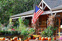 Morning Glory Farm stand, Edgartown, Martha's Vineyard, Massachusetts, USA